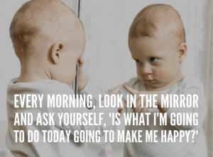 Introspectie is echt naar jezelf kijken in de spiegel