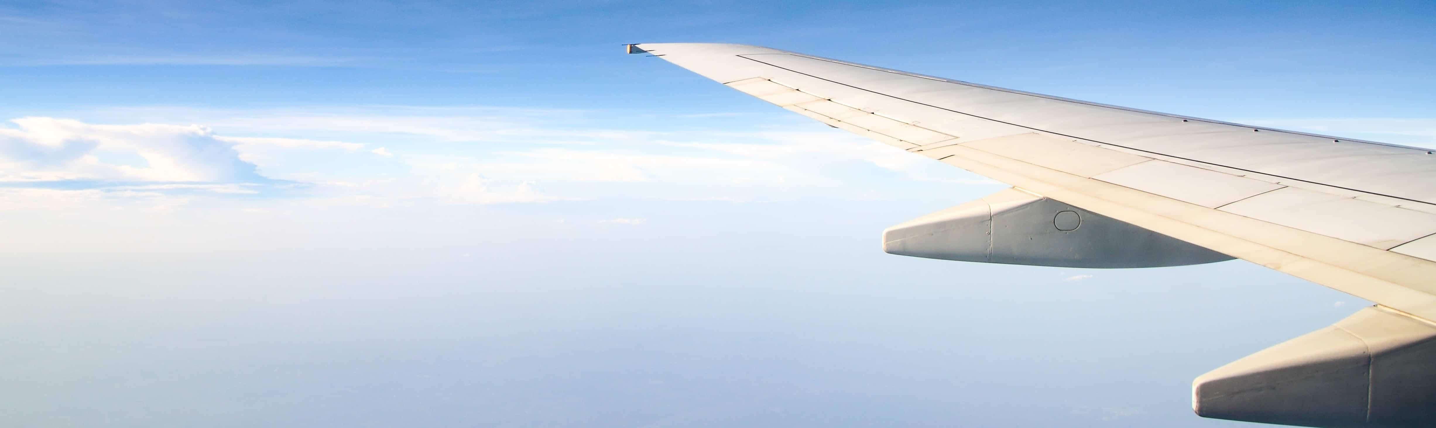 Vliegangst tegengaan. In no-time weer zonder spanning het vliegtuig in.