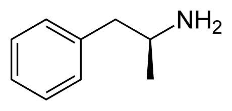 dextro amfetamine symbool
